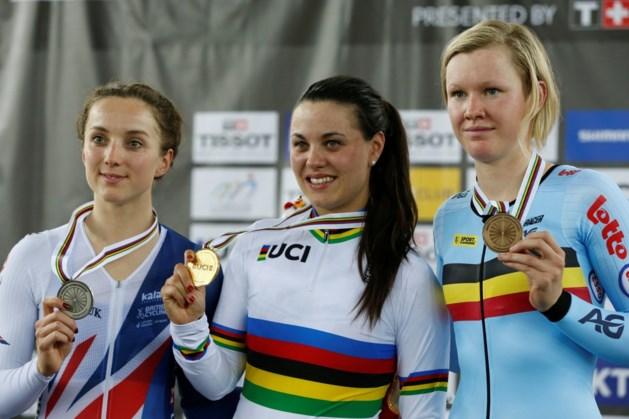 Gemengde gevoelens bij Jolien D'hoore na brons op WK baanwielrennen