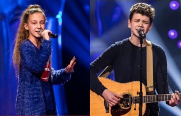 Hoe scoren Limburgse talentjes in eerste aflevering van The Voice Kids?