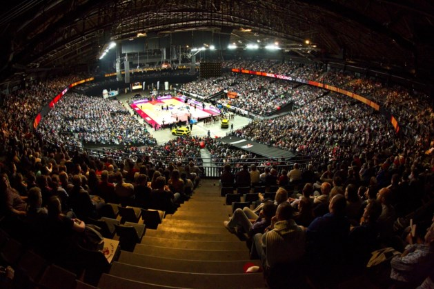 17.000 toeschouwers voor basketbalwedstrijd in Sportpaleis