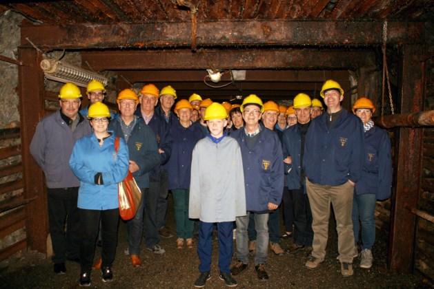Stichting Erfgoed Opgrimbie bezoekt Blegny Mine