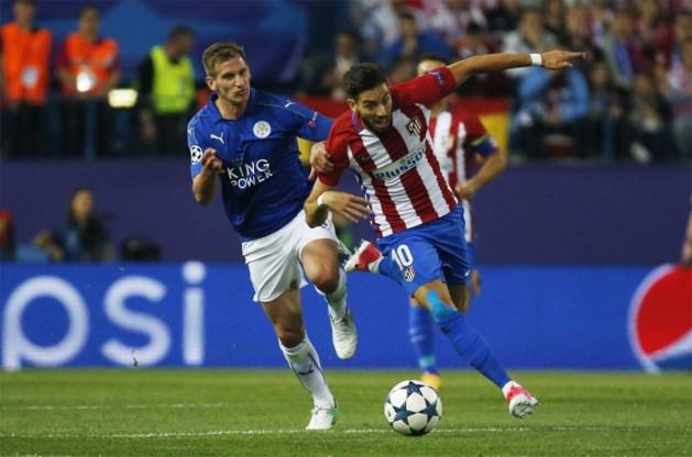 Atletico en Carrasco vergeten Leicester City helemaal af te maken