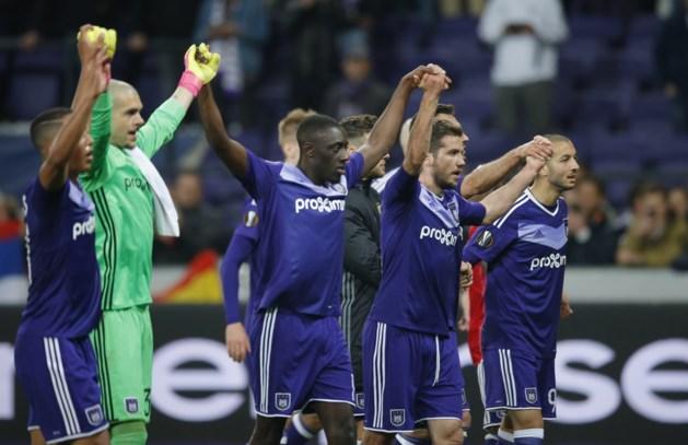 Anderlecht pakt verdiend een punt tegen Manchester United