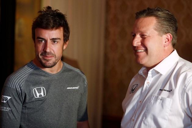 """McLaren: """"We hebben nog geen vervanger voor Alonso"""""""