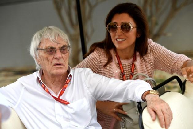 Bernie Ecclestone maakt rentree op paddock tijdens Grote Prijs van Bahrein