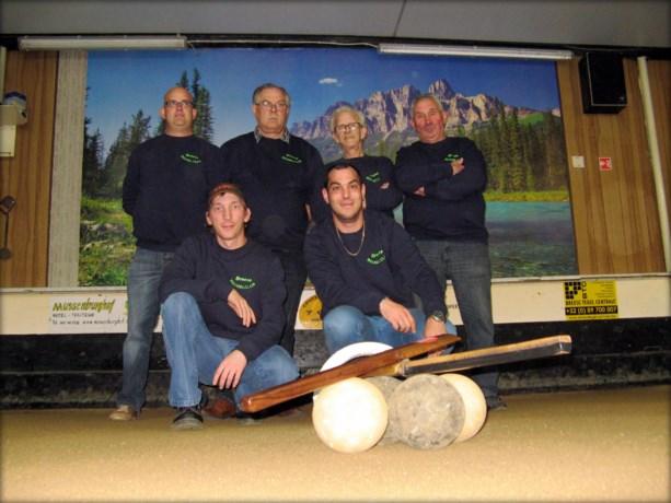 Eerste ploeg van Breese Beugelclub is kampioen