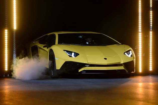 Lamborghini 'racet' tegen 40 km per uur over snelweg