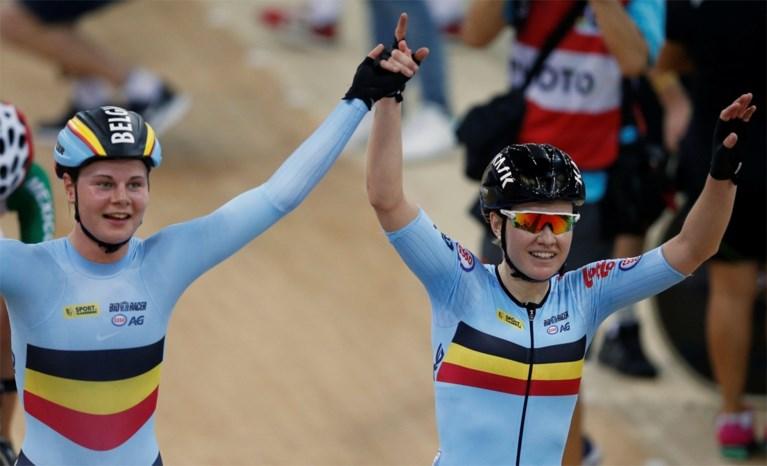 Goud! D'hoore en Kopecky kronen zich tot wereldkampioen ploegkoers