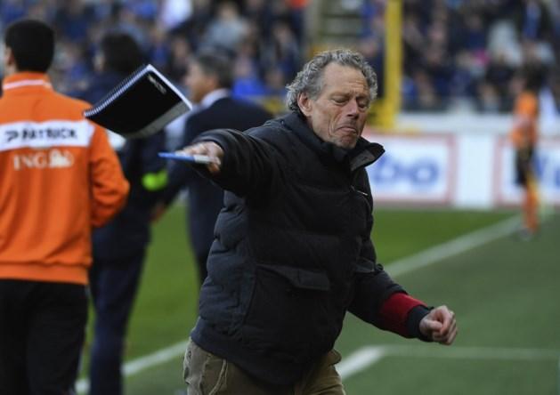Preud'homme dreigt geschorst te moeten toekijken op Anderlecht