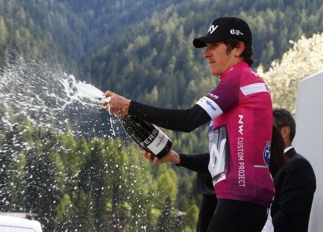 Montaguti sprint naar zege in vierde etappe Tour of the Alps, Thomas blijft leider