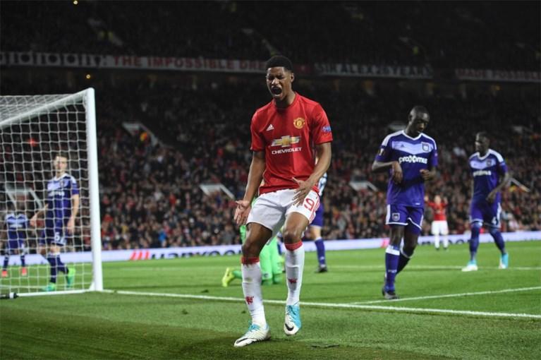 Anderlecht verlaat Europa League met opgeheven hoofd na spannende partij tegen Manchester United