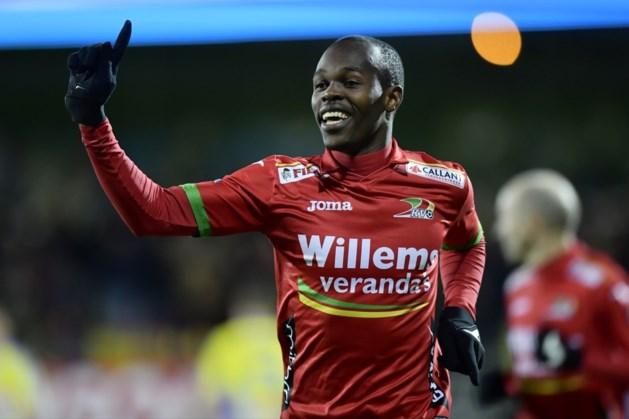 KV Oostende kan tegen AA Gent rekenen op Musona