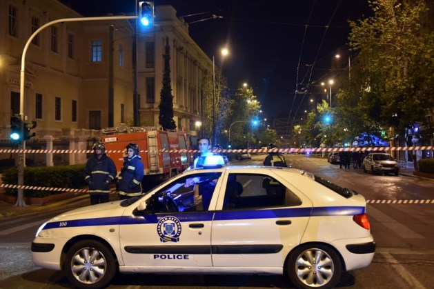 Bomaanslag op bank in Athene