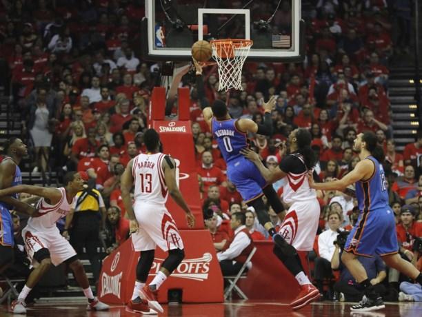 Oklahoma verliest ondanks indrukwekkende Westbrook opnieuw in NBA play-offs