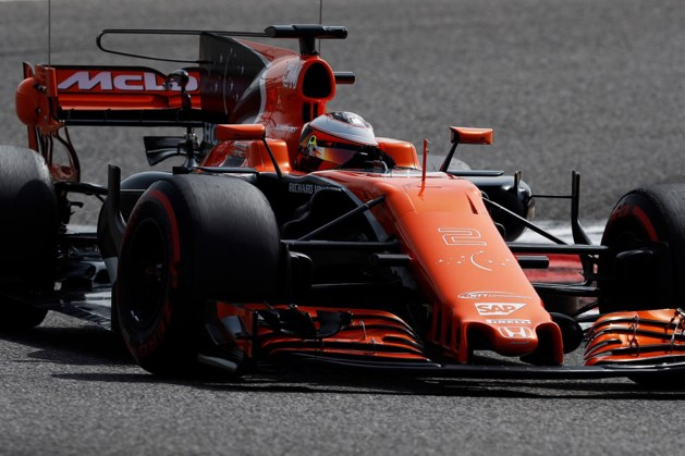 """Vandoorne: """"McLaren moet leren uit verrassend goede testdag"""""""