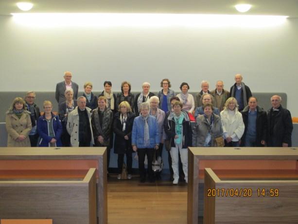 Davidsfonds Dilsen-Stokkem bezoekt gerechtsgebouw Hasselt