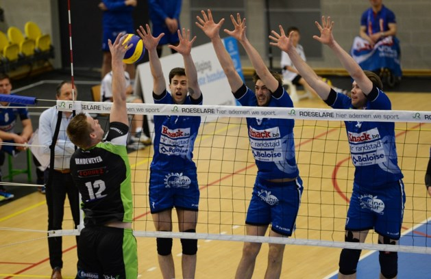 Ouderwetse finale in het volleybal: Roeselare kijkt Maaseik in de ogen