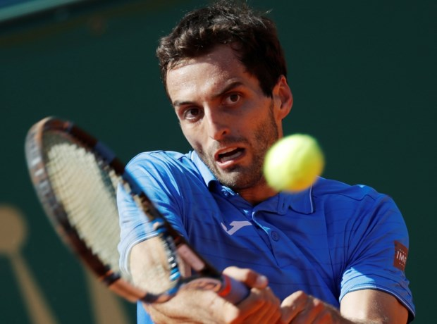 Albert Ramos is eerste finalist in Monte Carlo