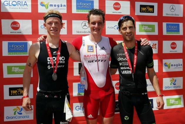 Tweede plaats voor Pieter Heemeryck op Challenge Gran Canaria triathlon