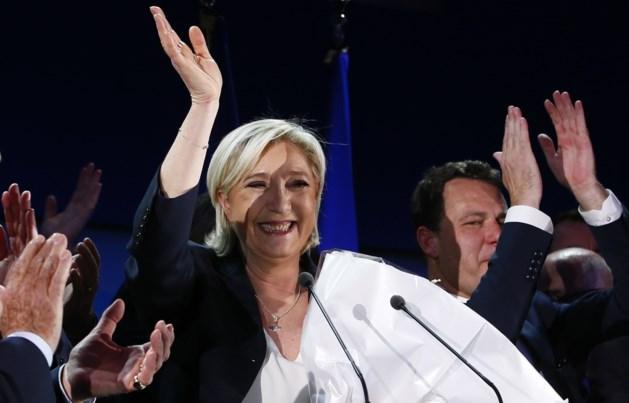 """Marine Le Pen is blij met """"historisch resultaat"""""""