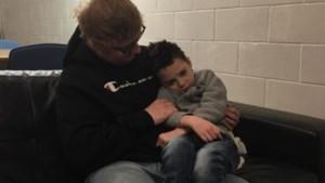 """Ed Sheeran vervult laatste wens van terminaal zieke fan (6): """"We kunnen hem niet genoeg bedanken"""""""