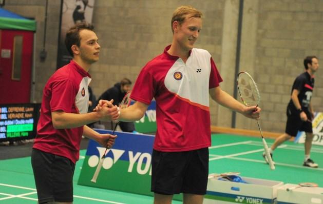 Dierickx en Golinski naar achtste finales EK badminton