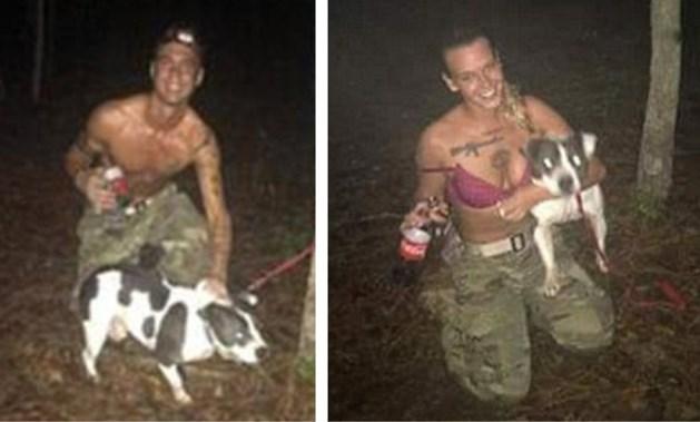 Ex-soldate bindt hond vast aan boom en schiet hem dood