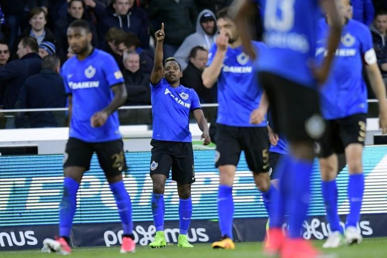 Club Brugge pakt eindelijk eerste zege in play-offs