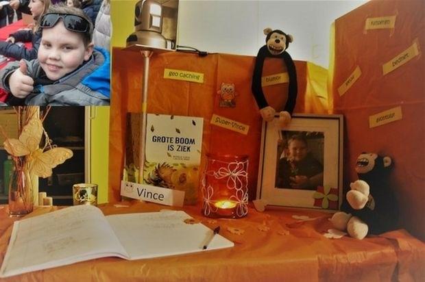 """School rouwt om 'Super Vince': """"Knutselwerkjes en tekeningen voor zijn ouders"""""""