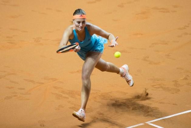 Titelverdedigster Angelique Kerber voortijdig uitgeschakeld in Stuttgart