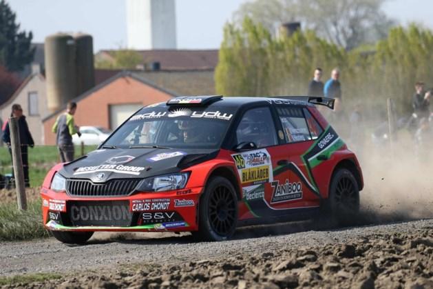 Verschueren kan in Rally van Wallonië leidersplaats BK rally verstevigen