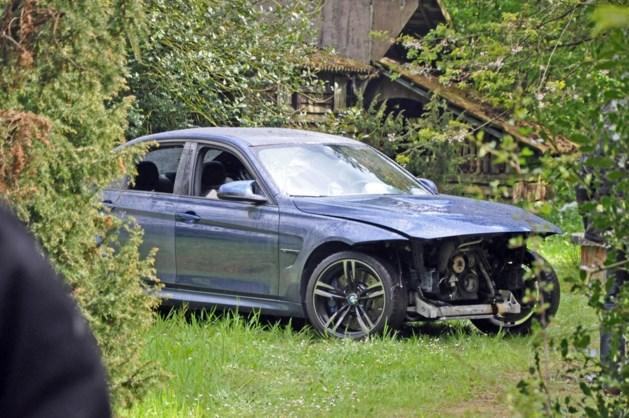 Gestolen BMW M3 volledig gestript en dan gedumpt