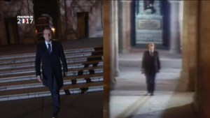 Flashback? Macron ging Mitterrand achterna