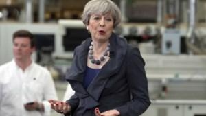 """Theresa May: """"Ik heb de ballen gehad om vervroegde verkiezingen uit te roepen"""""""