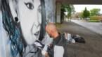 Muurschildering voor overleden Luana in Genk