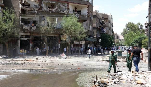 Minstens 18 slachtoffers bij zelfmoordaanslag in Damascus