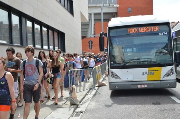 """""""Bussen laten rijden naar Rock Werchter was een bewuste keuze van de vakbonden"""""""