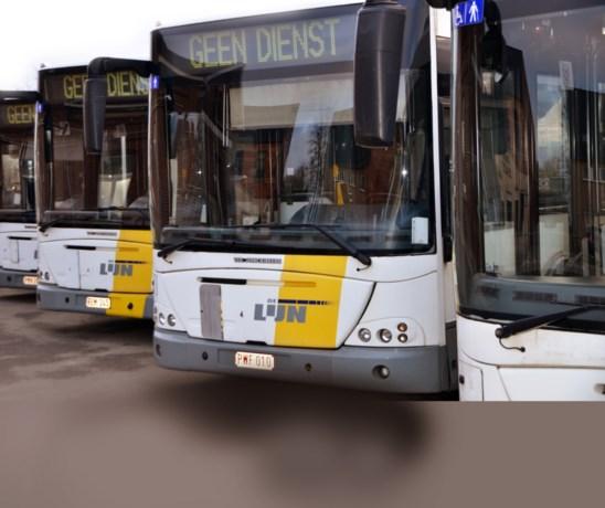 Derde stakingsdag: meer bussen en trams uitgereden