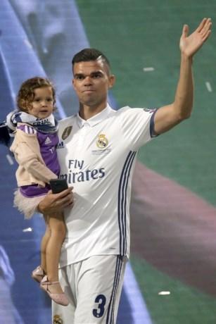 Pepe ruilt Real Madrid voor het Turkse Besiktas