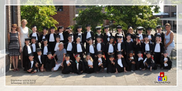 Afscheid van kleuterschool Spelenderwijs Hoeselt-centrum