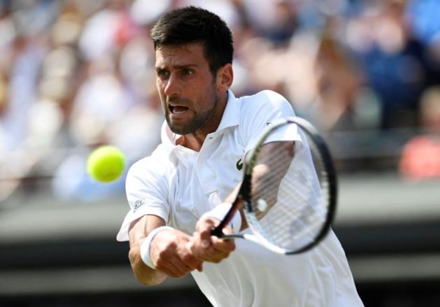 Novak Djokovic stoomt door naar derde ronde Wimbledon