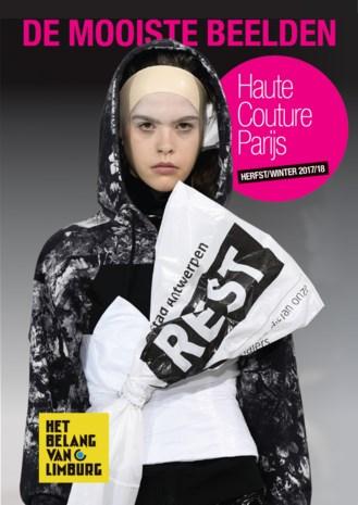 Extra bij uw digitale krant: een bijlage met de mooiste foto's van de Parijse Haute Coutureweek