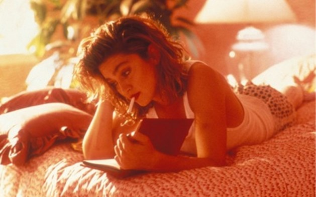 Oude liefdesbrief van Tupac aan Madonna brengt pijnlijke breuk aan het licht