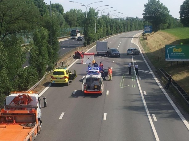 Zeventiger omgekomen bij ongeval op A12 in Meise