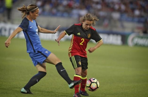 Red Flames lijden 2-0 nederlaag tegen Frankrijk