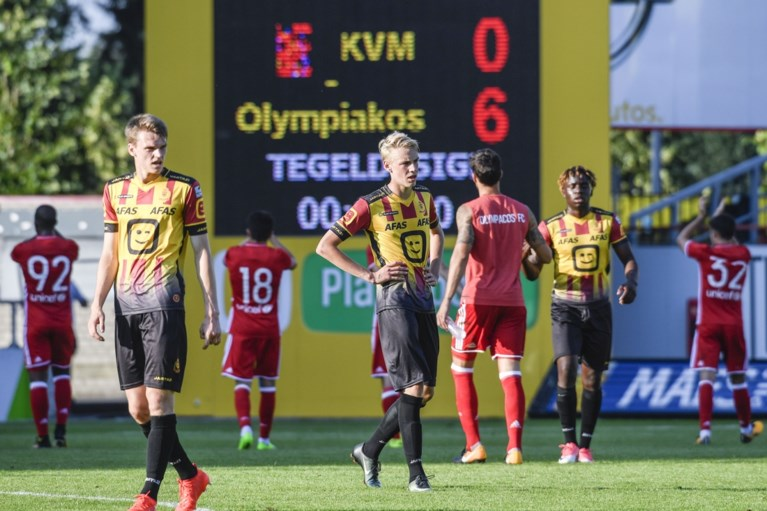 OEFENMATCHEN. Club Brugge met de billen bloot tegen Waasland-Beveren, KV Mechelen krijgt 0-6 om de oren van Hasi