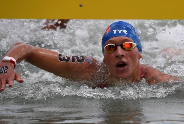 Fransman pakt goud in 5 km openwaterzwemmen, Vanhuys wordt dertiende