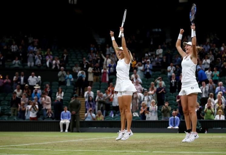 Makarova en Vesnina pakken met sprekend gemak dubbeltitel bij de vrouwen op Wimbledon