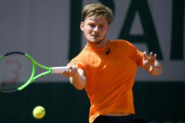 David Goffin zakt, ondanks forfait voor Wimbledon, maar één plaats op ATP-ranking