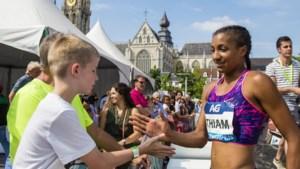 Nafi Thiam probeert het op de 100 meter horden woensdag in Luik