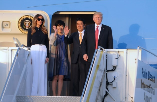 Deed vrouw van Japanse premier alsof ze geen Engels sprak om niet met Trump te moeten praten?